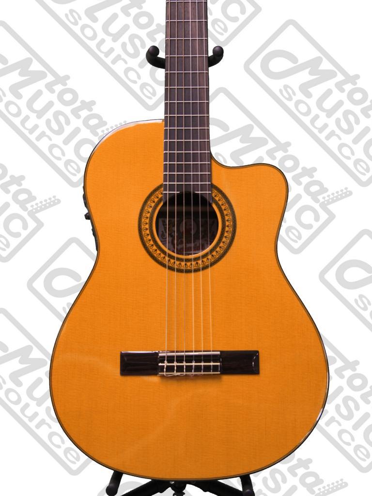 Oc11ce Oscar Schmidt Classical Acoustic Electric Guitar 4 Band Violin Preamplifier Active Eq Preamp