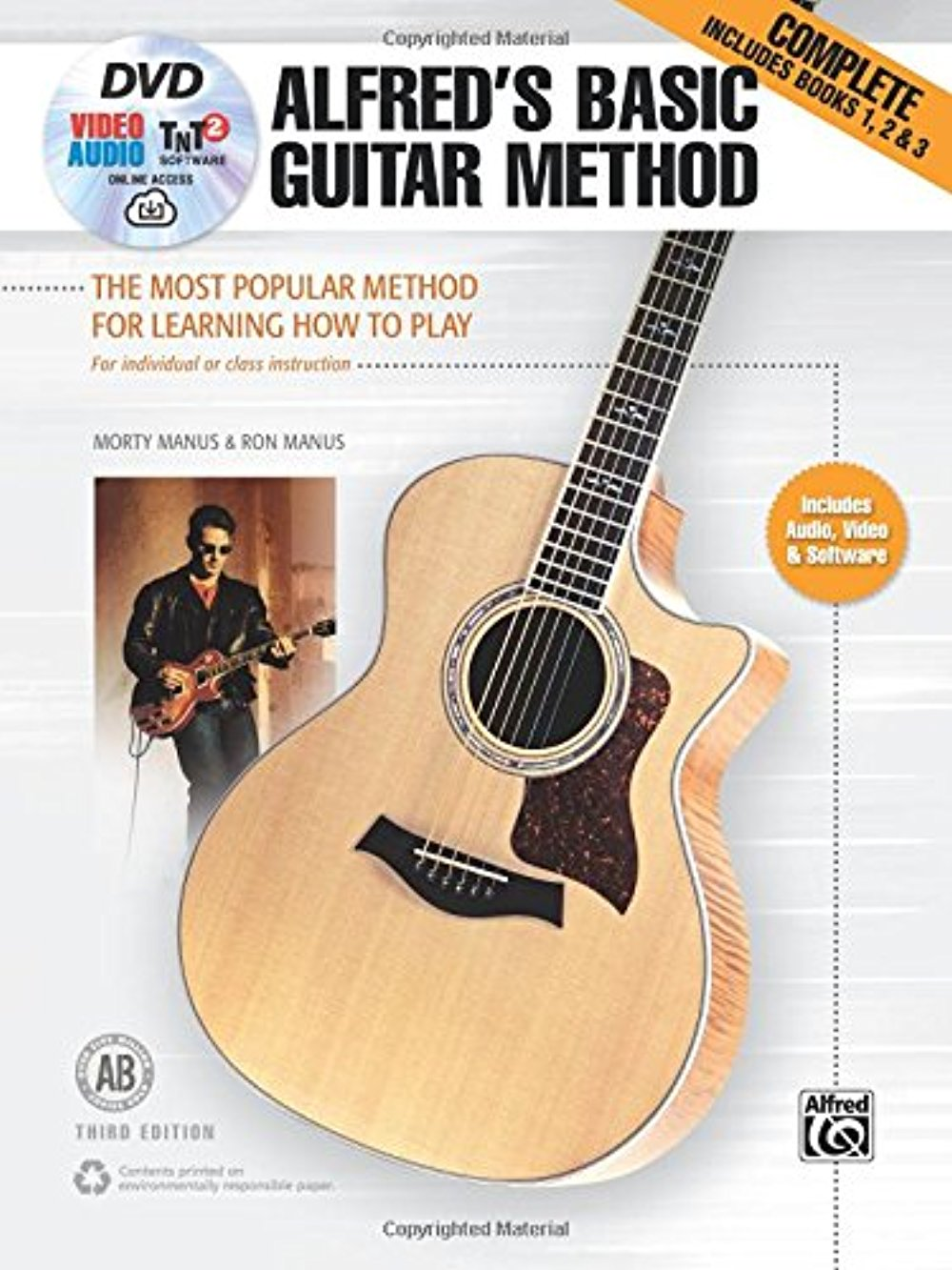 Alfred/'s Basic Guitar Method 2 Music Book with Audio Access Learn to Play Method