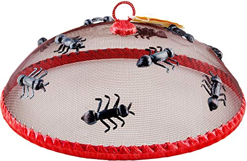 """Dragonfly Palais Essentials Mesh Screen Food Cover Dome 12/"""" Inch"""